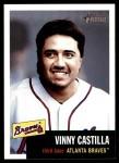 2002 Topps Heritage #242  Vinny Castilla  Front Thumbnail