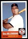 2002 Topps Heritage #356  Shea Hillenbrand  Front Thumbnail