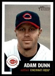 2002 Topps Heritage #300  Adam Dunn  Front Thumbnail