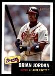 2002 Topps Heritage #310  Brian Jordan  Front Thumbnail
