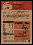 2002 Topps Heritage #246  Scott Rolen  Back Thumbnail