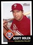 2002 Topps Heritage #246  Scott Rolen  Front Thumbnail