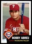 2002 Topps Heritage #224  Bobby Abreu  Front Thumbnail