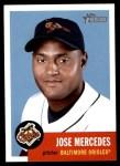 2002 Topps Heritage #340  Jose Mercedes  Front Thumbnail