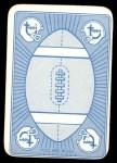 1971 Topps Game Inserts #37  Johnny Unitas  Back Thumbnail
