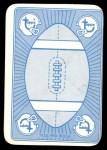 1971 Topps Game #38  Matt Snell  Back Thumbnail