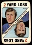 1971 Topps Game #35  Fran Tarkenton  Front Thumbnail