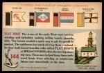 1955 Topps Rails & Sails #144   Flat Boat Back Thumbnail
