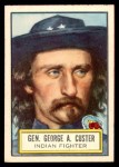 1952 Topps Look 'N See #37  General George Custer   Front Thumbnail