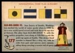 1955 Topps Rails & Sails #177   Racing Boat Back Thumbnail