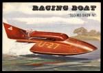 1955 Topps Rails & Sails #177   Racing Boat Front Thumbnail