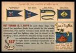 1955 Topps Rails & Sails #157   Net Tender Back Thumbnail