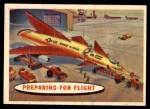 1957 Topps Space Cards #14   Preparing for Flight  Front Thumbnail