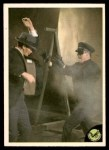 1966 Donruss Green Hornet #15   The criminals' leader attacks Kato Front Thumbnail