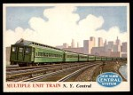 1955 Topps Rails & Sails #116   Multiple Unit Train Front Thumbnail