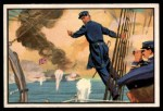 1954 Bowman U.S. Navy Victories #14   Full Speed Ahead Front Thumbnail