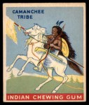 1947 Goudey Indian Gum #19   Camanchee Tribe Front Thumbnail