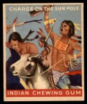 1947 Goudey Indian Gum #56   Charge On Sun Pole Front Thumbnail