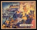 1941 Gum Inc. War Gum #110   Commandos Raid Tobruch Front Thumbnail