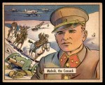 1941 Gum Inc. War Gum #119   Melnik The Cossack Front Thumbnail