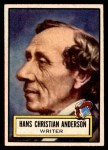 1952 Topps Look 'N See #89  Hans Christian Andersen  Front Thumbnail