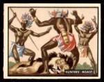 1950 Topps Bring Em Back Alive #15   Hunter's Boast Front Thumbnail