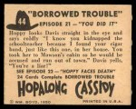 1950 Topps Hopalong Cassidy #44   You did it Back Thumbnail