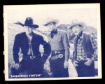 1950 Topps Hopalong Cassidy #13   clever trick Front Thumbnail