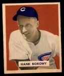 1949 Bowman #134  Hank Borowy  Front Thumbnail