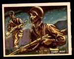 1950 Topps Freedoms War #158   Starry Night  Front Thumbnail