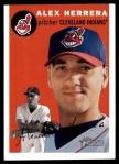 2003 Topps Heritage #57  Alex Herrera  Front Thumbnail