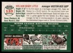 2003 Topps Heritage #133  Grady Little  Back Thumbnail