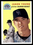 2003 Topps Heritage #56  Jason Young  Front Thumbnail