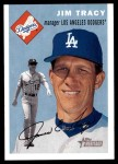 2003 Topps Heritage #86  Jim Tracy  Front Thumbnail