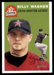 2003 Topps Heritage #154  Billy Wagner  Front Thumbnail