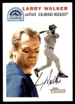 2003 Topps Heritage #60  Larry Walker  Front Thumbnail