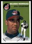 2003 Topps Heritage #92  Ricardo Rodriguez  Front Thumbnail