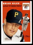 2003 Topps Heritage #6 NEW Brian Giles   Front Thumbnail