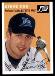 2003 Topps Heritage #126  Steve Cox  Front Thumbnail