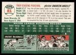 2003 Topps Heritage #81  Troy Percival  Back Thumbnail