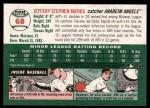 2003 Topps Heritage #68  Jeff Mathis  Back Thumbnail