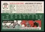 2003 Topps Heritage #17  Alexis Gomez  Back Thumbnail