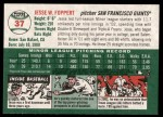 2003 Topps Heritage #37  Jesse Foppert  Back Thumbnail