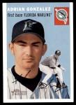 2003 Topps Heritage #19  Adrian Gonzalez  Front Thumbnail