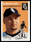 2003 Topps Heritage #89  Carlos Lee  Front Thumbnail