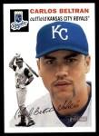 2003 Topps Heritage #51  Carlos Beltran  Front Thumbnail