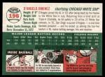 2003 Topps Heritage #196  D'Angelo Jimenez  Back Thumbnail