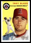 2003 Topps Heritage #140  Troy Glaus  Front Thumbnail