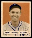 1949 Bowman #127 SCR Hank Majeski  Front Thumbnail