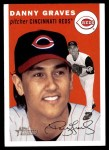 2003 Topps Heritage #245  Danny Graves  Front Thumbnail